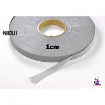 Reflective tape, reflective tape, safety tape width 1cm, gray reflective