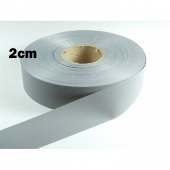 Reflective tape, reflective tape, safety tape width 2cm, gray reflective