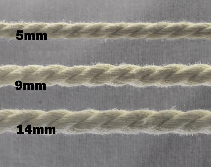 Kordeln Kordel (Meterware): Baumwollkordel Schnur Dekoband
