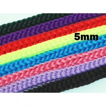 Cord cord band diameter 5 mm 20 colors on offer for crafting, sewing decorate and much more