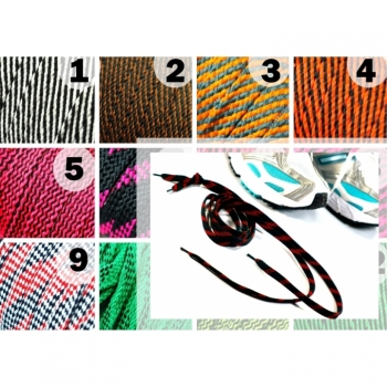 Cord Cord Band Hoodieband Length 1m, width 8mm, over 20 colors on offer. Perfect for shoes, hoodies, gym bags, bags, creative DIY projects