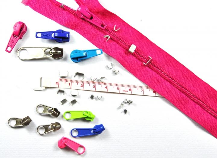 c19321672bbb9 Zipper Accessoires - Zipper 3mm, Num.3: XXL Reißverschluss Reparatur ...