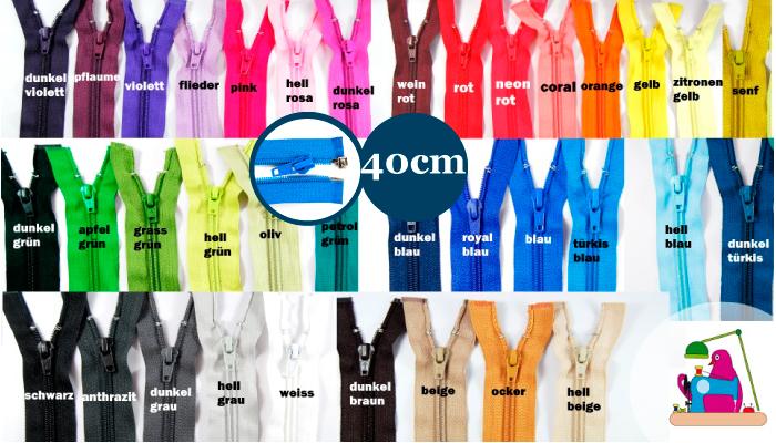 99938359d7 Buy Jacken Reißverschluss teilbar Länge 40cm Spirale 5mm Num.5 über 30  Farben im Angebot ...