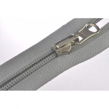 1 pc zipper for shoes or pocket zipper spiral 7mm, Num7 type 7 reversible inside and outside