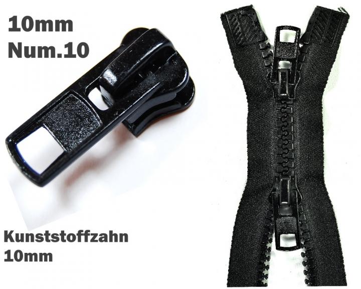 Zipper Accessoires Zipper Num 10 10mm 1 St Zipper Schieber Fur