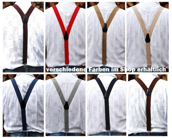 kaufen herren handmade hosentrager 35mm lange ca 105cm y form verschiedene farben im angebot