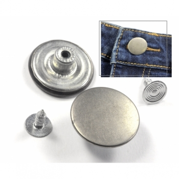 Jeans button, button for jeans, snap button 20mm, button for pants, exchange, repair